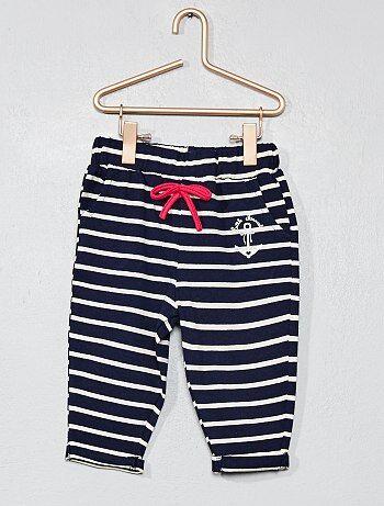 Pantalón de rayas 'Little Marcel' - Kiabi