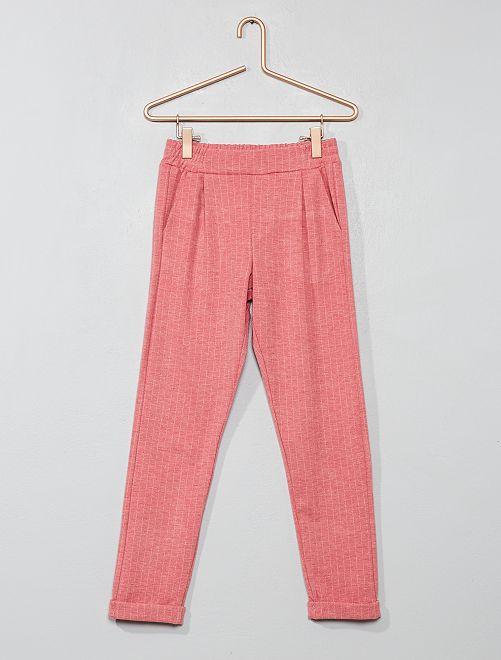 Pantalón de rayas                                         ROSA Chica