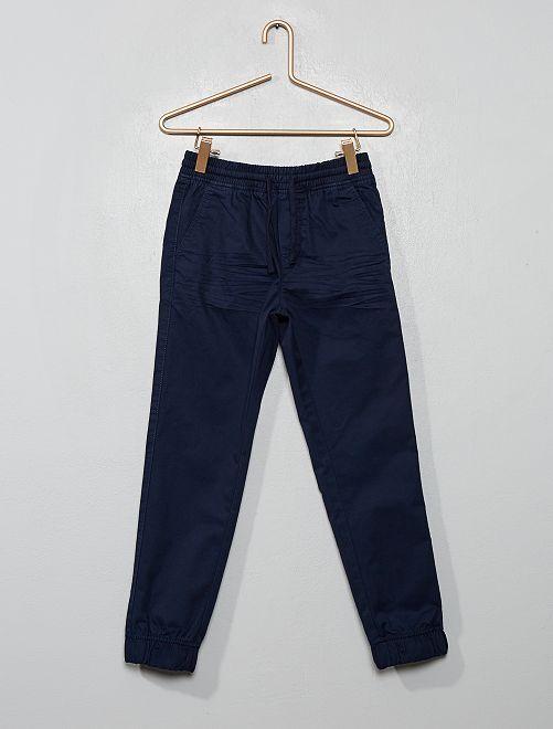 Pantalón de sarga                                                                             azul
