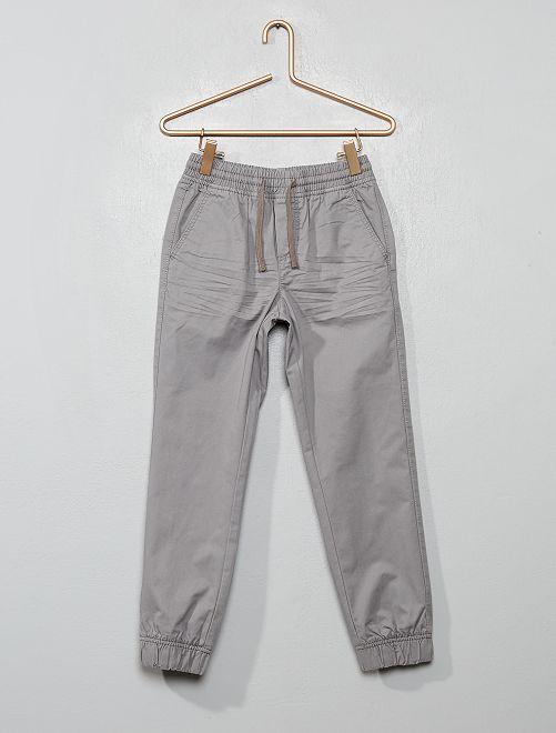 Pantalón de sarga                                                                             GRIS