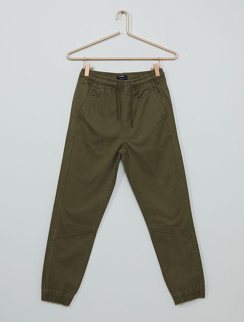 Pantalón de sarga                                                                 KAKI