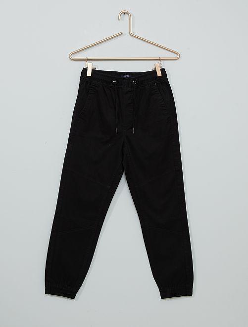 Pantalón de sarga                                                                 negro