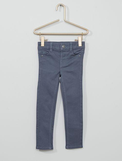 Pantalón de sarga para niños talla -                                                                                         AZUL