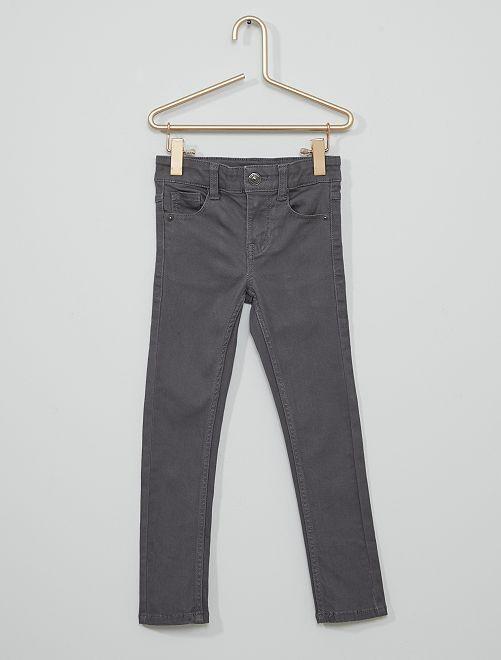Pantalón de sarga para niños talla -                                                                                         GRIS