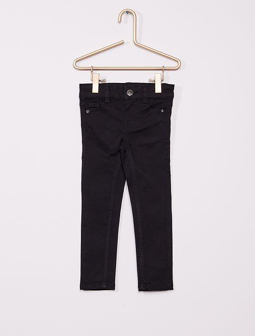 Pantalón de sarga para niños talla -                                                                                         negro