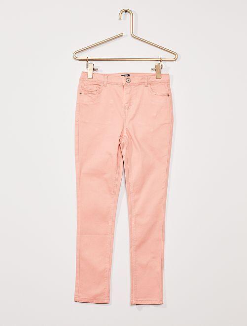 Pantalón de sarga para niños talla +                                                                             ROSA