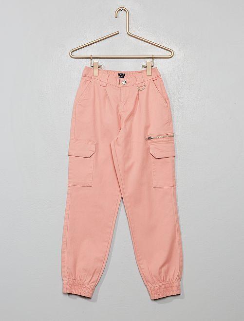 Pantalón de sarga                                                                 ROSA