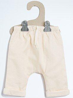 Pantalones, vaqueros, calzoncillos - Pantalón de tela con forro
