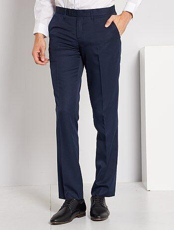 Pantalón de traje corte recto - Kiabi