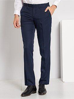 Trajes - Pantalón de traje corte recto - Kiabi