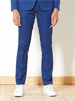 Hombre - Pantalón de traje de corte ajustado - Kiabi