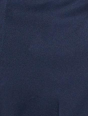 de marino corte Pantalón de Hombre traje ajustado azul Kiabi 0PwON8nkX