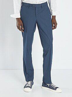 Pantalones - Pantalón de traje de corte ajustado - Kiabi