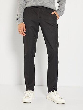 Hombre talla S-XXL - Pantalón de traje de corte ajustado - Kiabi f35668b3a83c