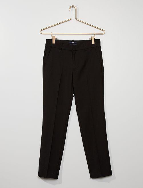 f3f6e9f0d456a Pantalón de traje Joven niño - negro - Kiabi - 18