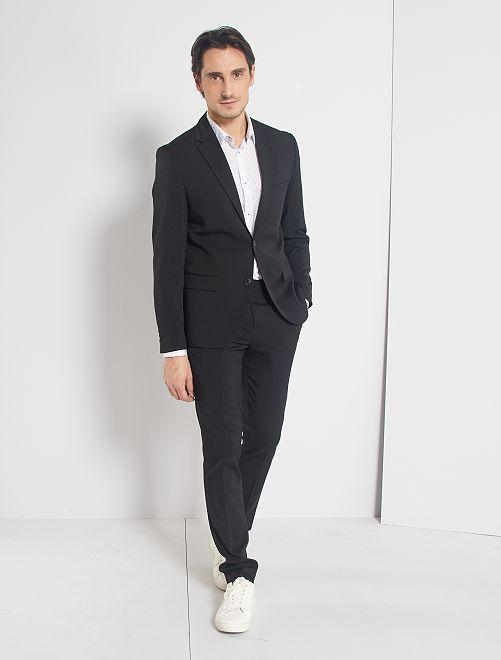 Pantalón de traje skinny                                         negro