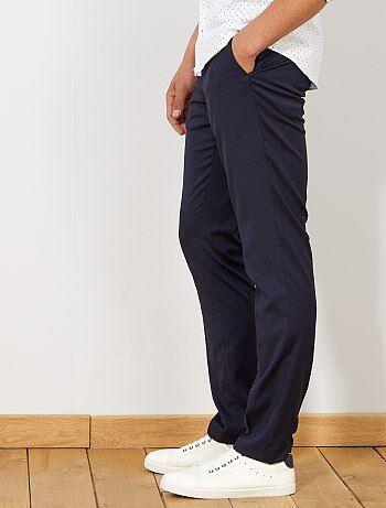 75af9e3328 Hombre talla S-XXL - Pantalón de traje slim caviar - Kiabi