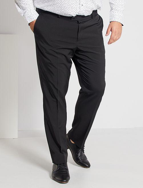 Pantalón de traje slim                                         negro