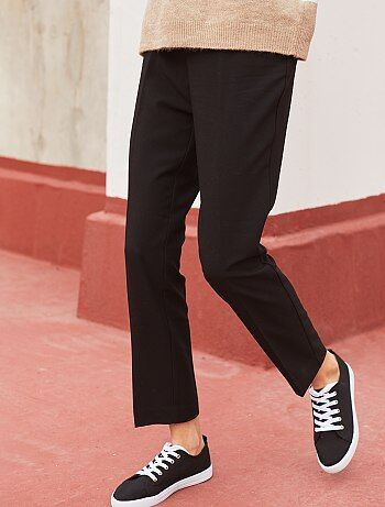 Pantalón de vestir recto - Kiabi 8ff94ff8f472