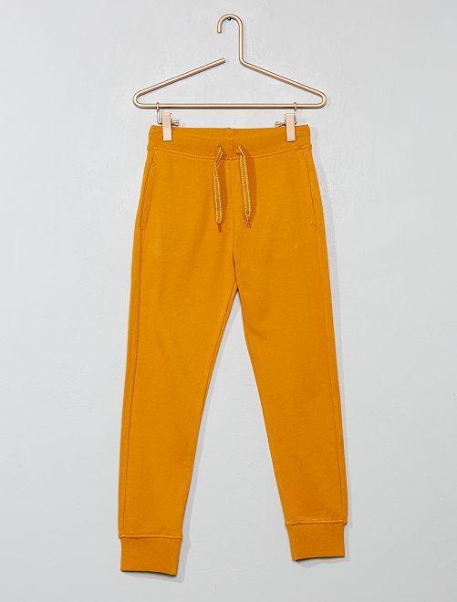 Pantalón deportivo de felpa                                                                                                     AMARILLO Chico