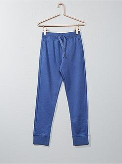 Pantalones - Pantalón deportivo de felpa - Kiabi