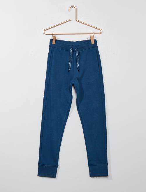 Pantalón deportivo de felpa                                                                             AZUL Chico