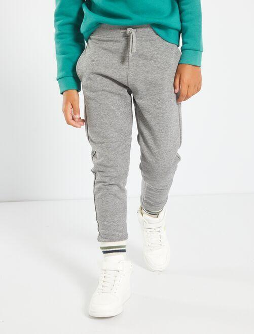 Pantalón deportivo de felpa                                                                                                     GRIS