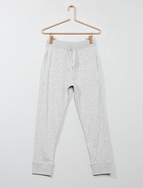 Pantalón deportivo de felpa                                                                                         GRIS Chico