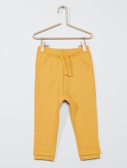 Pantalón deportivo eco-concepción                                                                             AMARILLO