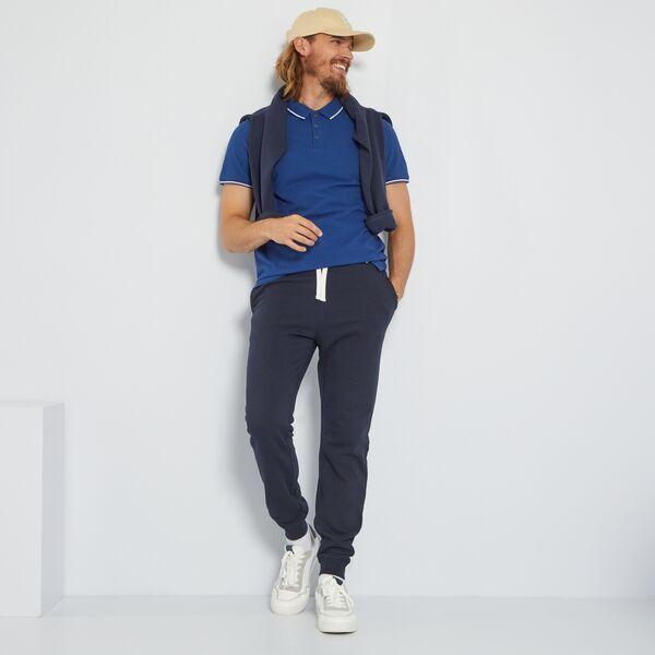 Pantalon Deportivo Eco Concepcion Hombre Talla S Xxl Negro Kiabi 8 00