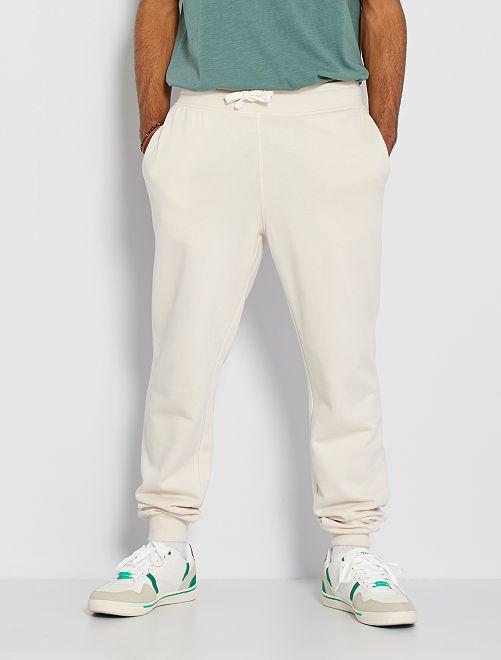Pantalón deportivo eco-concepción                                                                                                                 BLANCO