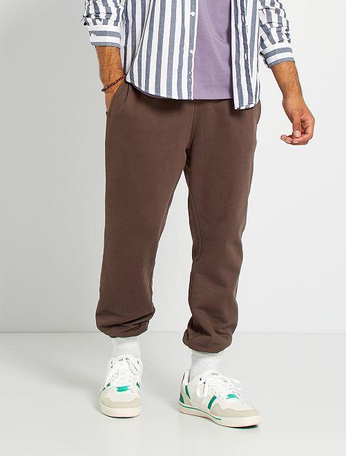 Pantalón deportivo eco-concepción                                                                                                     marrón oscuro
