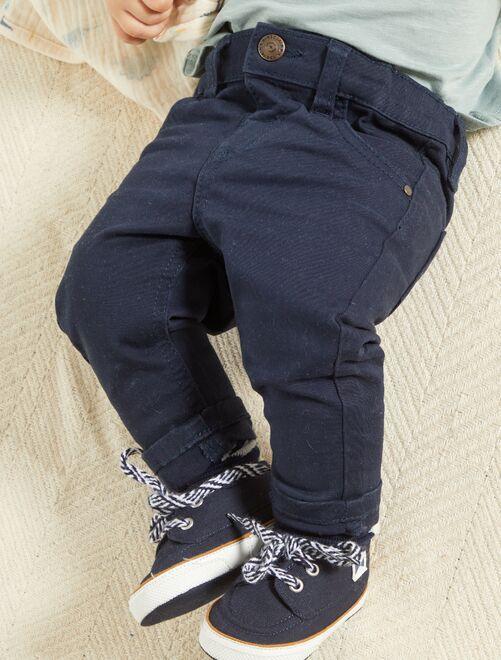 Pantalón 'eco-concepción'                                                                                         azul