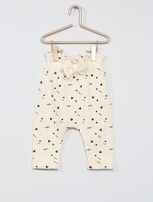 Pantalón 'eco-concepción' 'Disney Baby'                     BLANCO