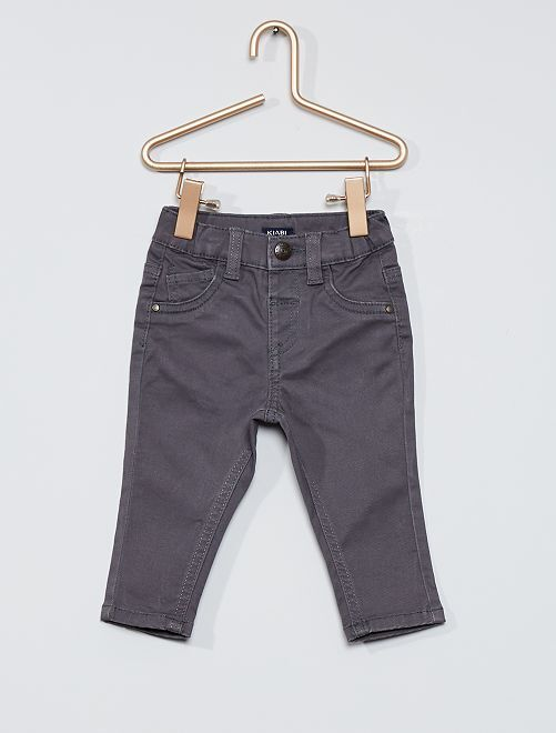Pantalón 'eco-concepción'                                                                                         GRIS