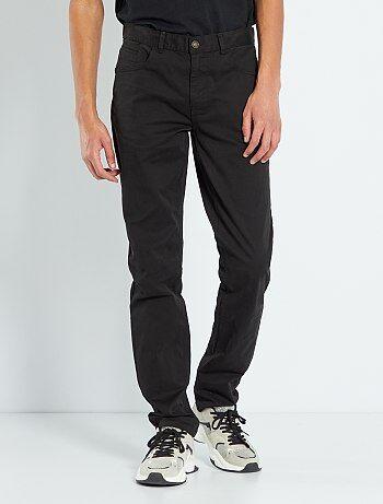 Hombre talla S-XXL - Pantalón entallado con 5 bolsillos L36 +1m90 - Kiabi