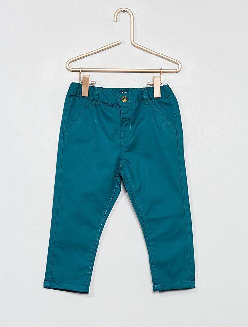 Pantalón estilo chino                                                                             verde Bebé niño