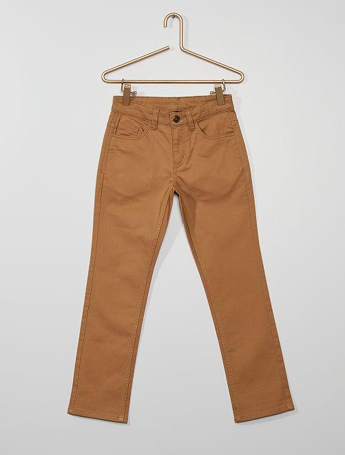 Pantalón estilo worker                             BEIGE