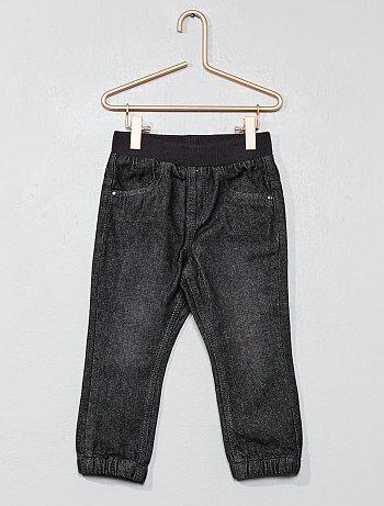 Pantalón forrado de algodón puro - Kiabi