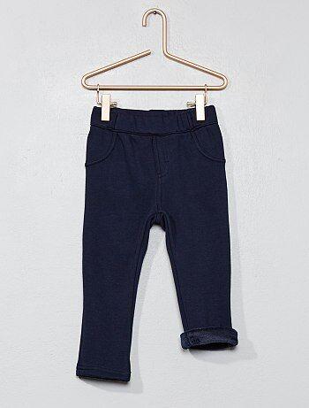 Pantalón forrado de tejido polar - Kiabi