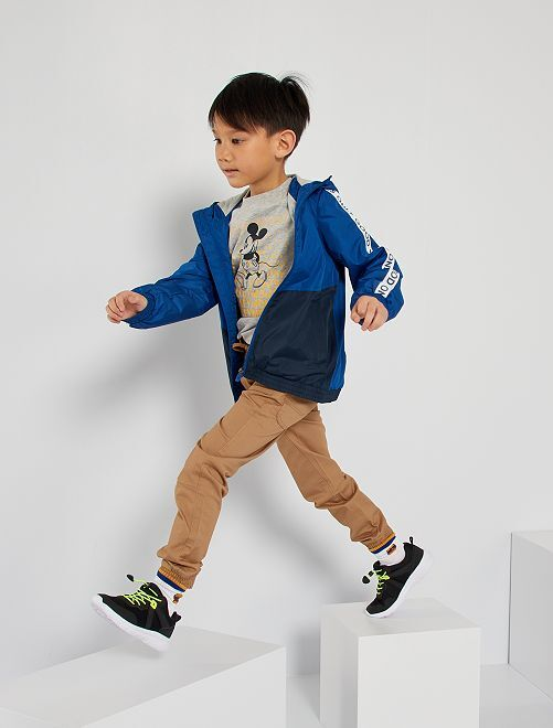 Pantalón jogger de algodón                             BEIGE