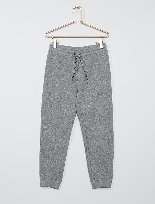 Pantalón jogging niños talla +                             GRIS