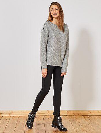 469763fabdfe Pantalones Mujer | negro | Kiabi
