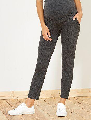 Mujer talla 34 to 48 - Pantalón premamá de punto - Kiabi