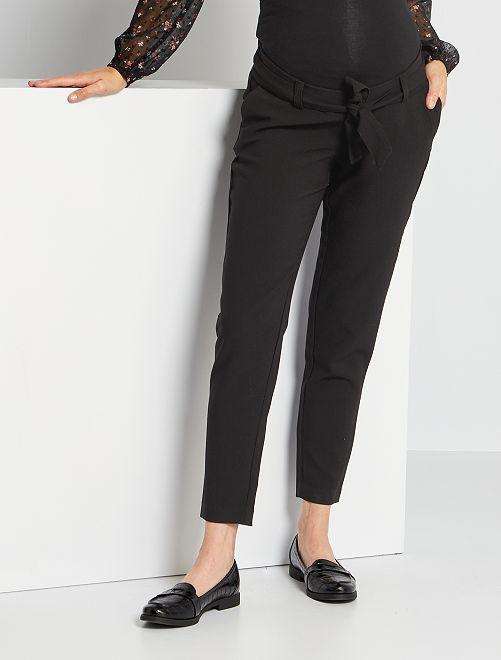 Pantalón premamá                             negro