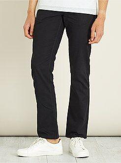 Pantalones casual - Pantalón recto con 5 bolsillos