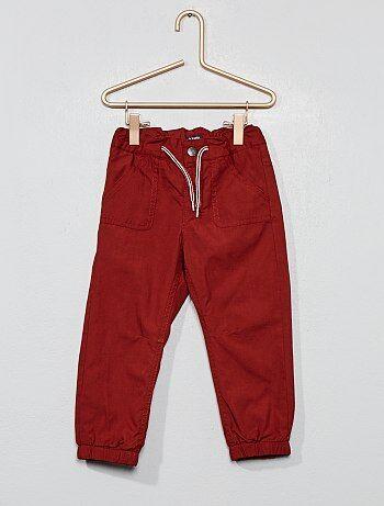 646e4f31f Pantalones Bebé niño | marrón | Kiabi