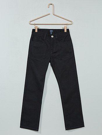 Pantalón recto de sarga - Kiabi