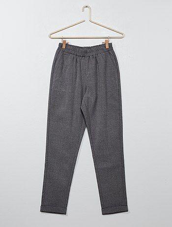 Pantalón recto estilo sastre - Kiabi