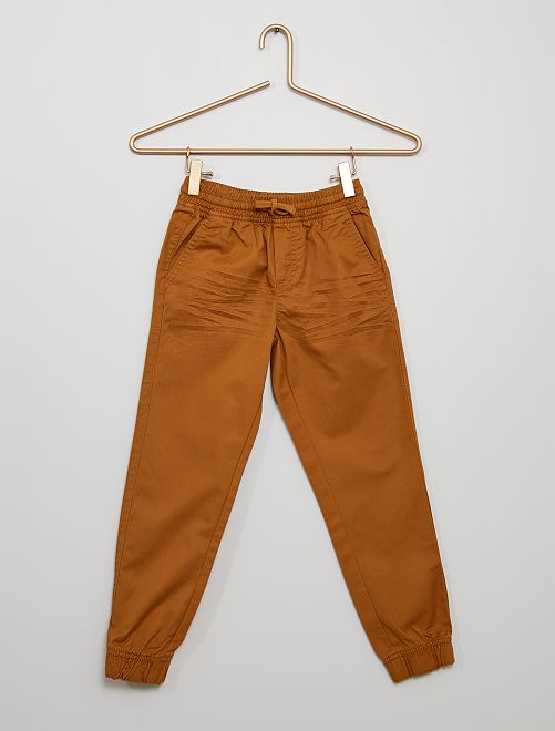 Pantalón regular                                                                                         BEIGE